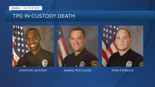 TPD officers Samuel Routledge, Ryan Starbuck, and Jonathan Jackson resigned the day before a TPD  investigation into the in-custody death of Carlos Adrian Ingram-Lopez was completed.