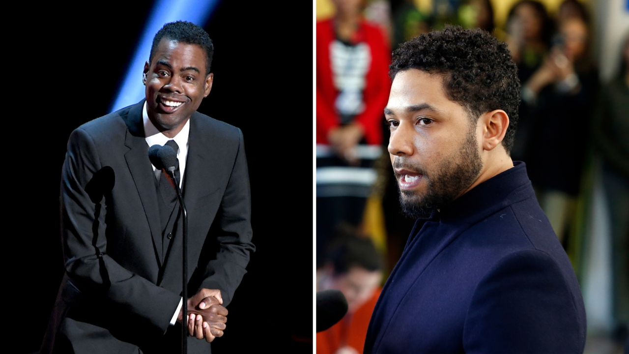 Chris Rock rips into Jussie Smollett at NAACP Image Awards