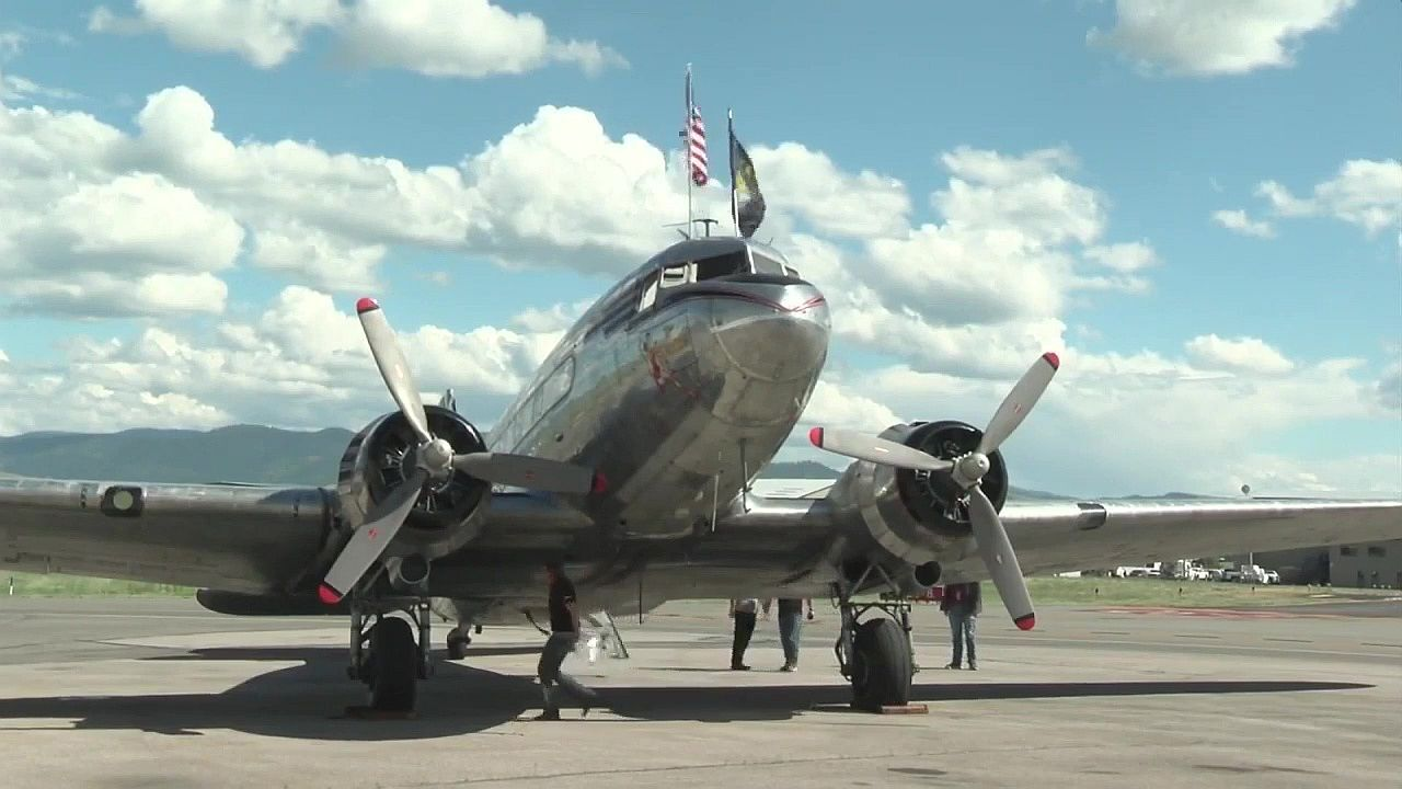 """Miss Montana"" plane"