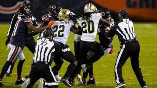 Saints Bears Football C. J. Gardner-Johnson