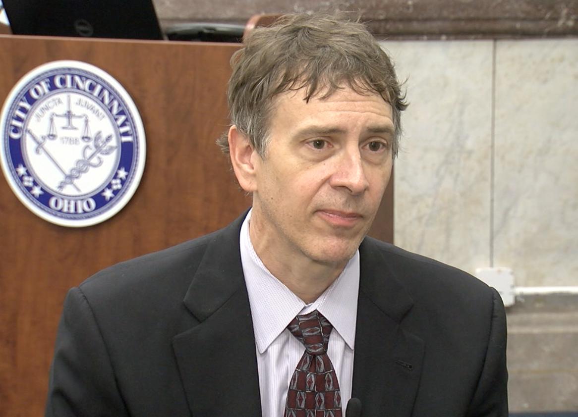 John Brazina, director of Cincinnati's Department of Transportation and Engineering