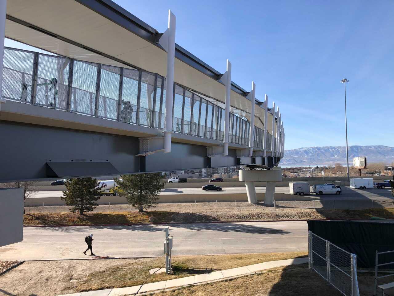 UVU Pedestrian Bridge
