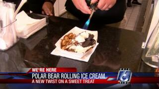Polar Bear Rolling Ice Cream offers delectable treats