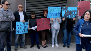 Residents protest over new developers in Barrio Logan