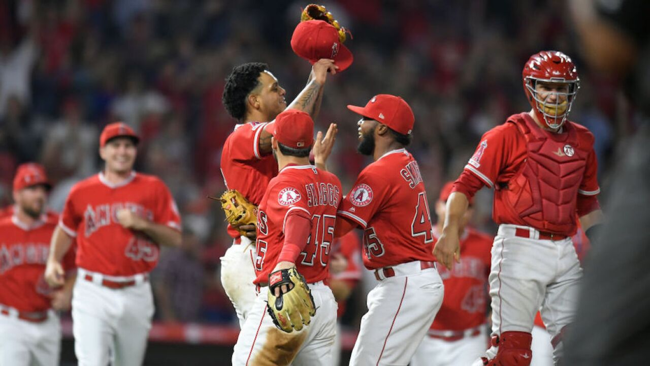 Angels throw a combined no-hitter in their first home game since the death teammate Tyler Skaggs