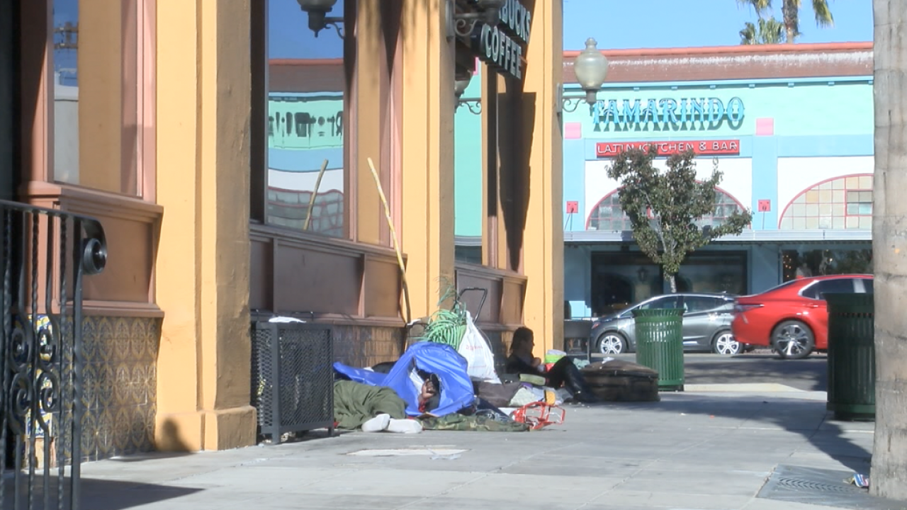 Homeless issue may have forced a Starbucks to close