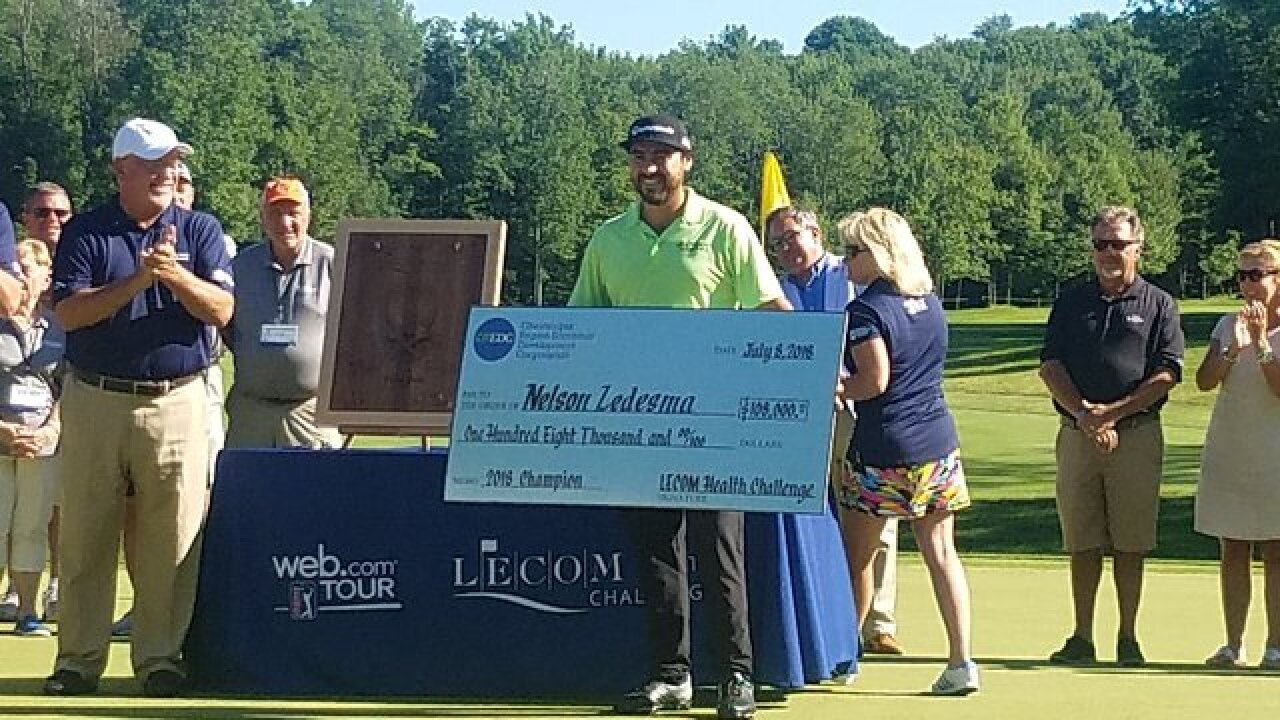 Nelson Ledesma crowned 2018 LECOM Health Challenge Champion
