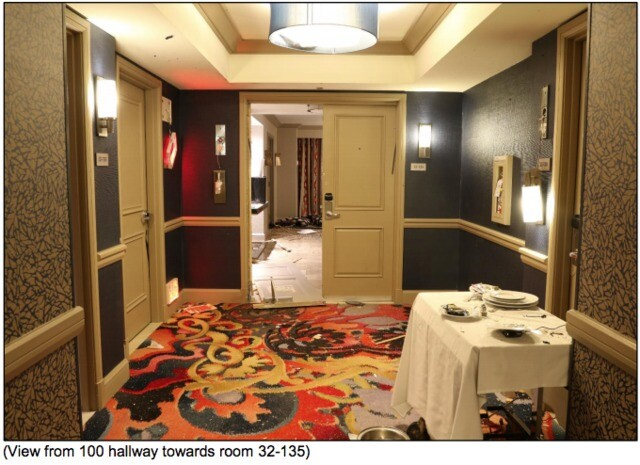 PHOTOS: Inside gunman Stephen Paddock's suite at Mandalay Bay