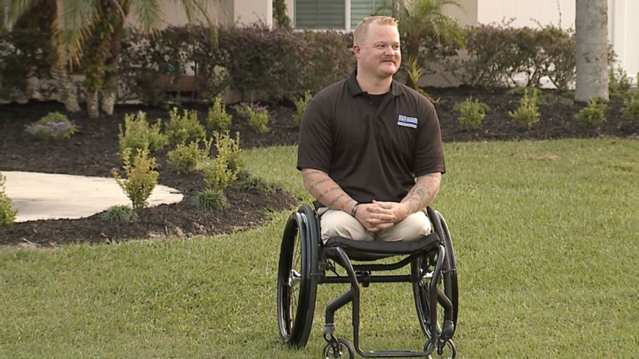 Tampa Bay veteran marks 10-year Alive Day this Thanksgiving