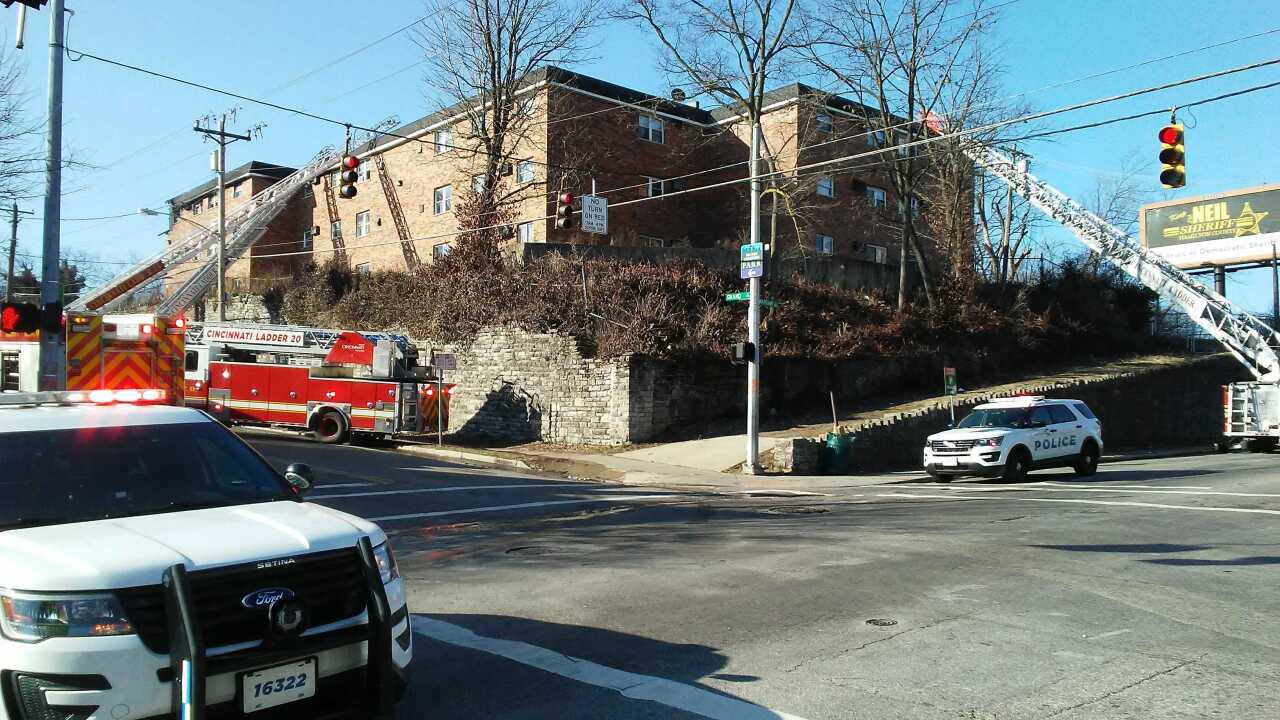 East Price Hill apartment fire