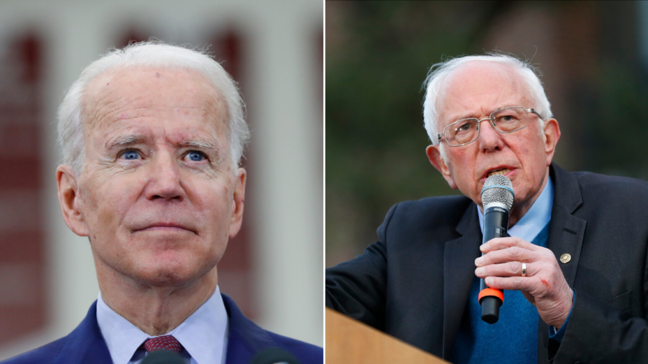 DNC moves debate between Biden, Sanders from Arizona to Washington