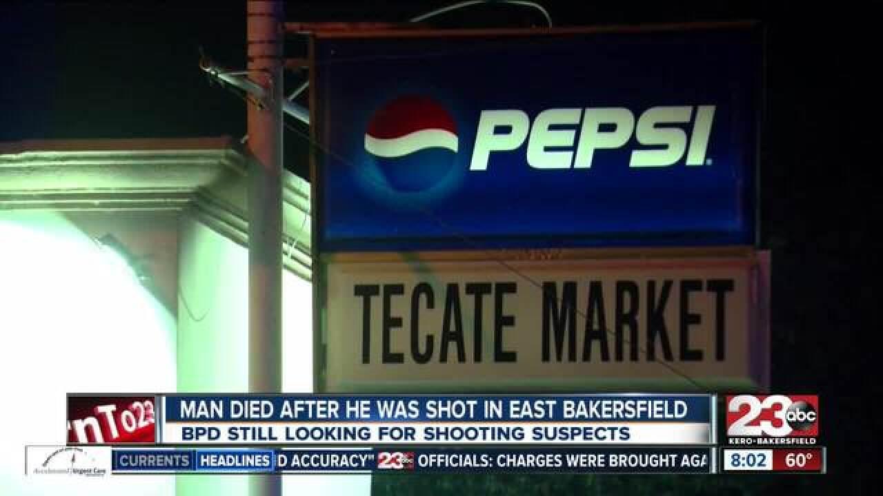 Two people shot in east Bakersfield