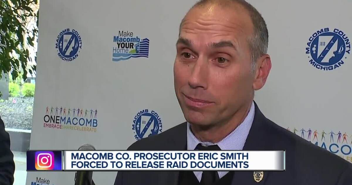Macomb County Prosecutor Eric Smith under investigation for possible embezzlement