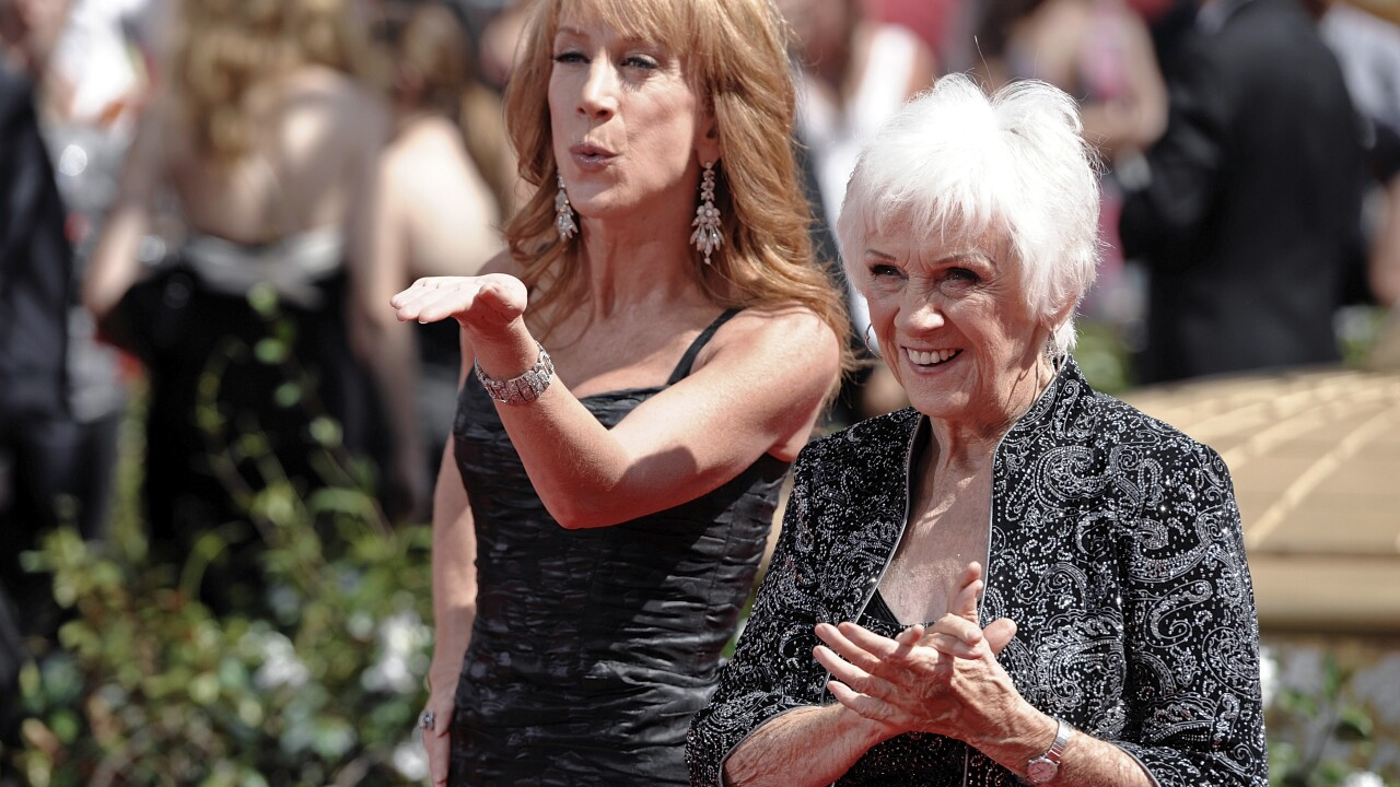 Maggie Griffin, impish mother of comedian Kathy Griffin, dies at 99