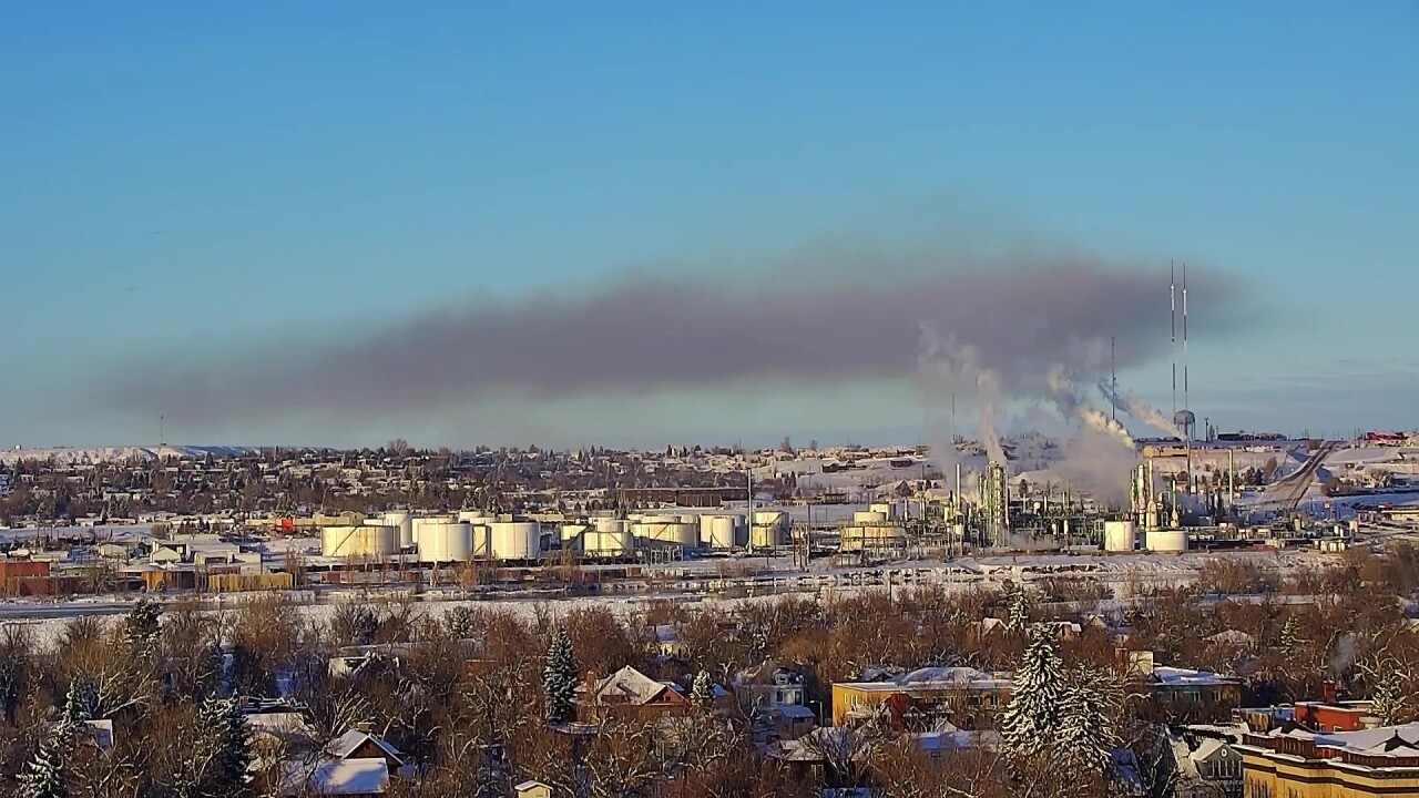 Refinery identifies cause of Saturday's fire
