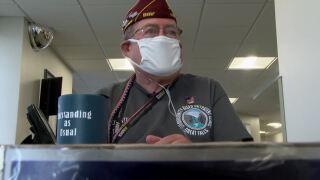 VA volunteer Dennis Burns