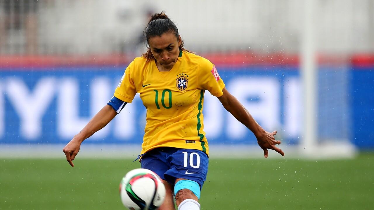 quality design 6a93d 095b5 Marta and Formiga head Brazil Women's World Cup squad