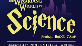 Send your kids to Wizarding World of Science Spring Break Camp