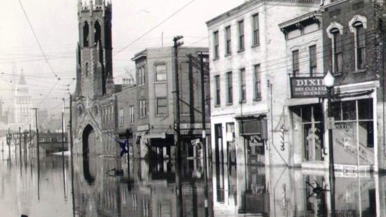 Then & Now: 1937 Ohio River flood