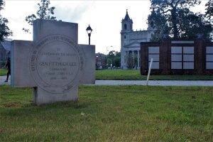 Cross commemorates former Virginia Gov. Fitzhugh Lee (SOURCE: George Copeland Jr. and Irena Schunn)