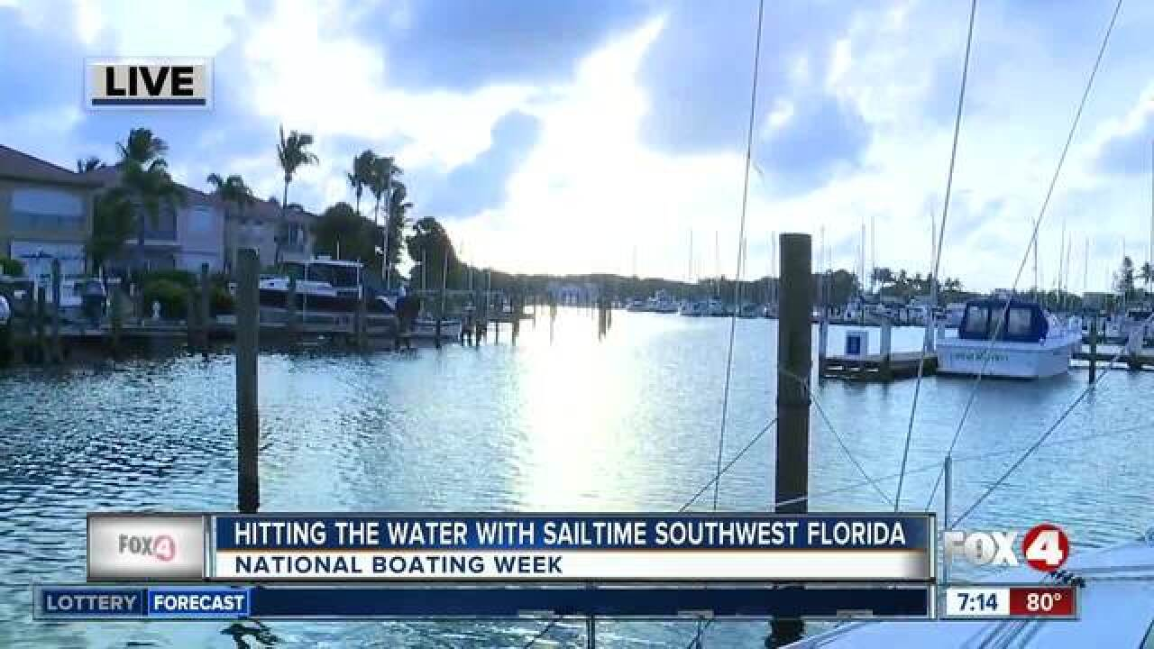 Learn how to sail on National Boating Week