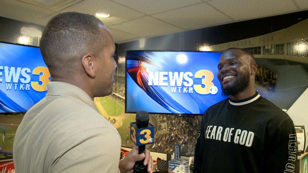 Back from The Bay, LaRoy Reynolds talks with Mitch Brown1-on-1