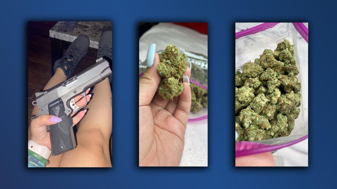 Tanya Bui_arrest affidavit photos_drugs_firearm.jpg