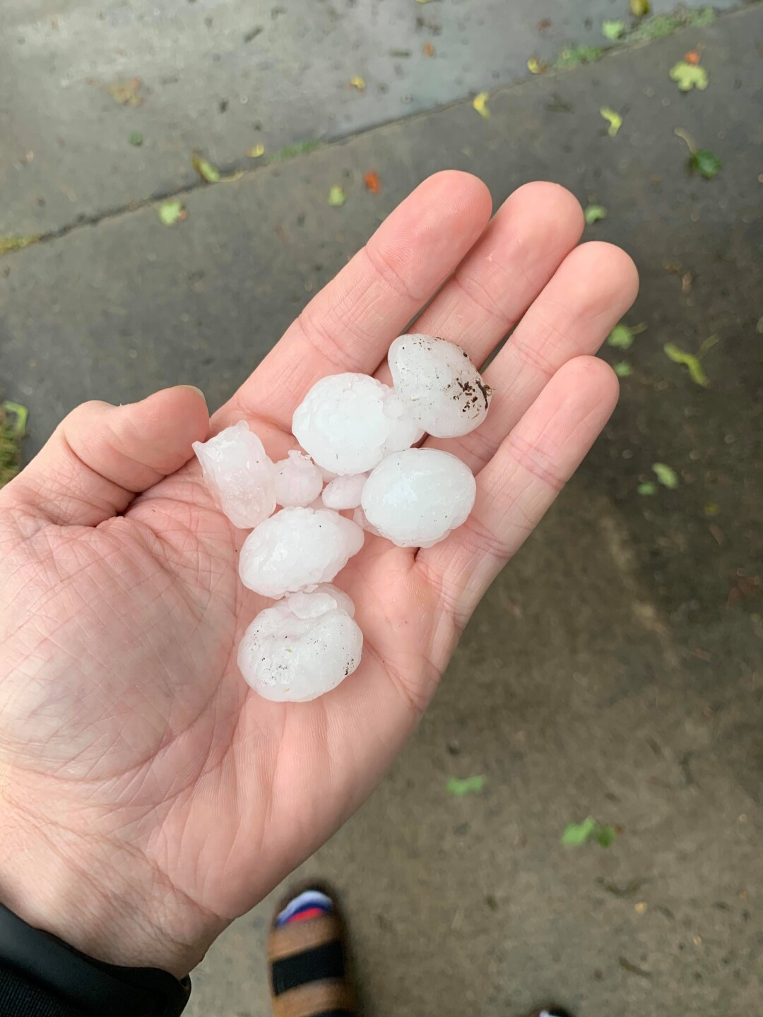 Photos: Thunder and hail storms hit northern Utah