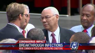 Colin Powell's death to COVID-19 symptoms was a breakthrough infection