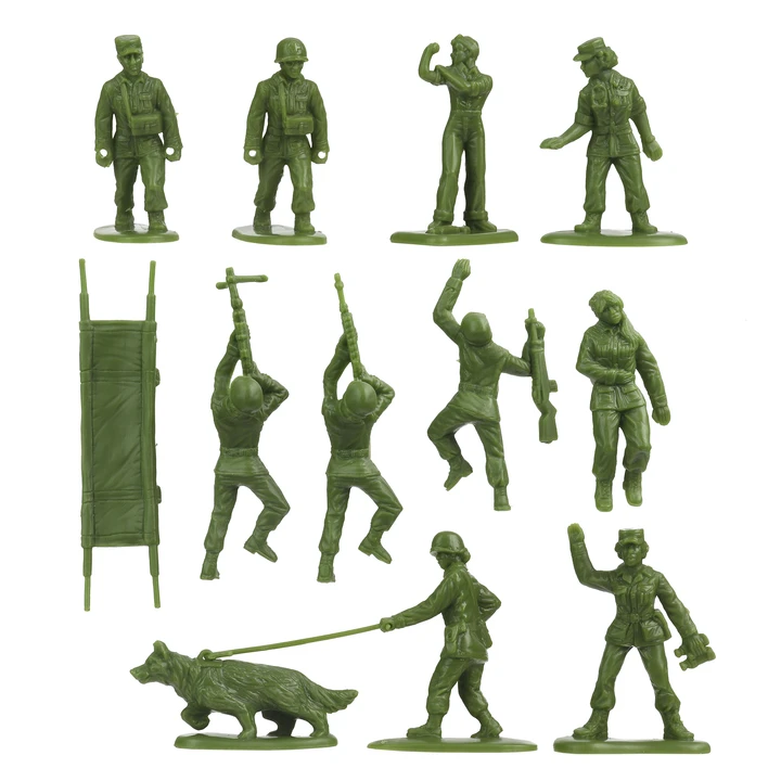 BMC Toys Plastic Army Women Toys picture 2