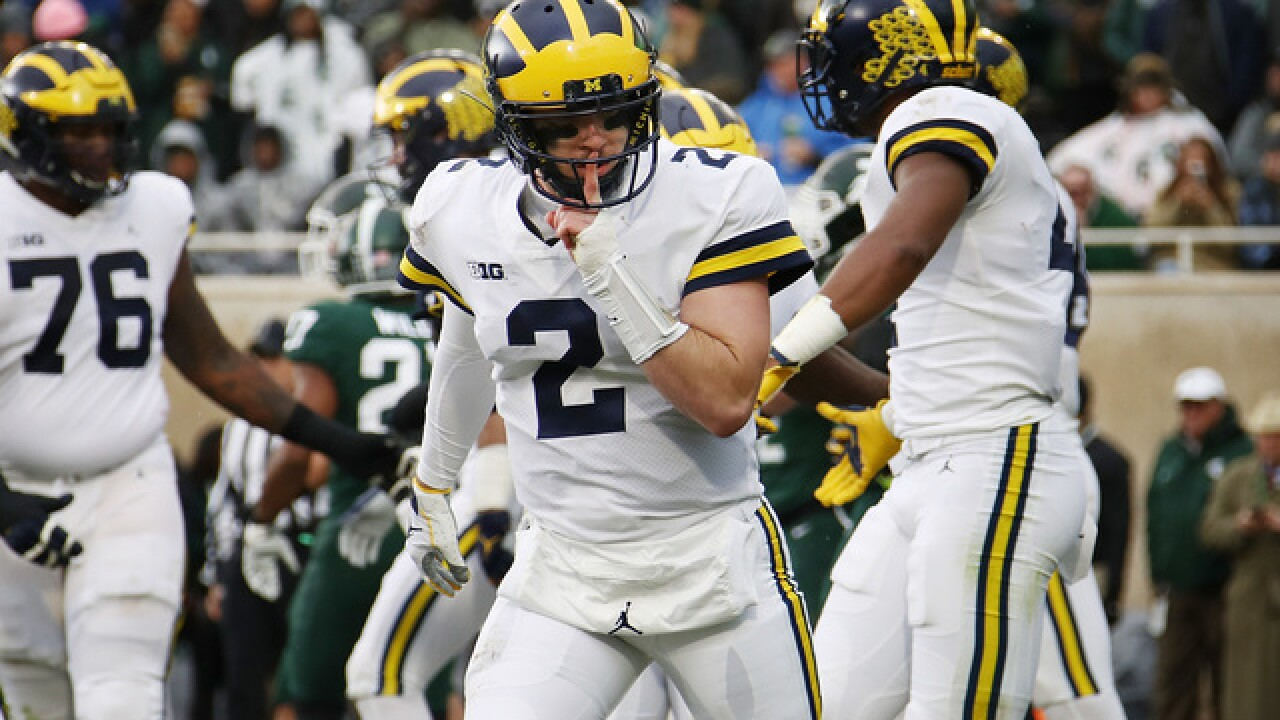 Patterson to return for final season at Michigan