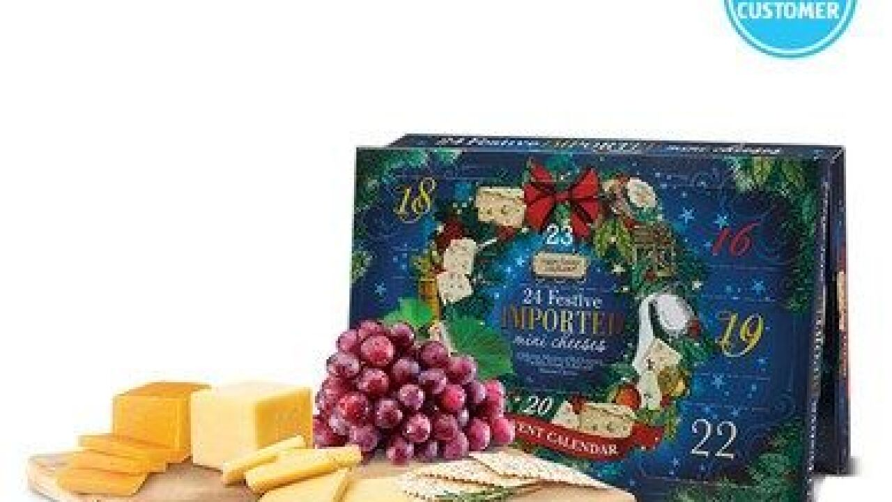 Aldi Cheese Advent Calendar.Aldi To Sell Wine And Cheese Advent Calendars For The Christmas Season