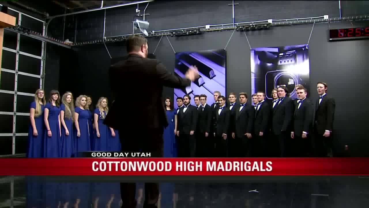 Cottonwood High Madrigals perform on Fox 13's Good Day Utah