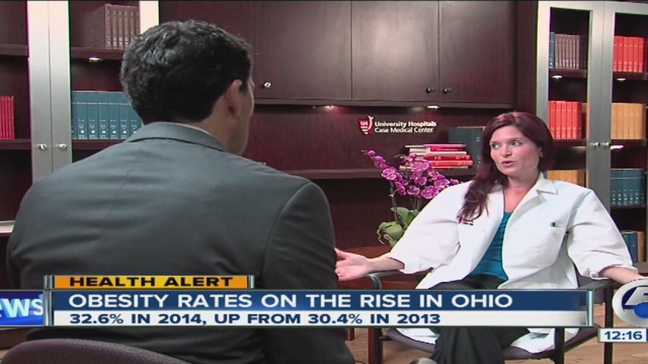 Stubborn Ohio obesity rates inch forward