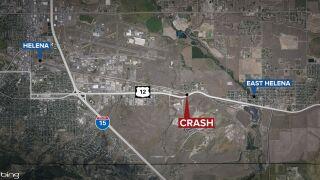 Helena man dies in crash on Highway 12