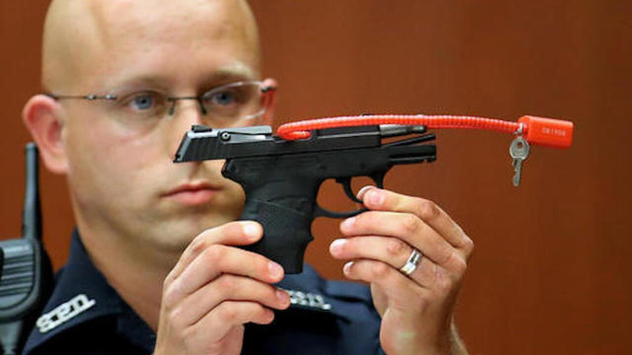 Auction for controversial gun possibly hijacked