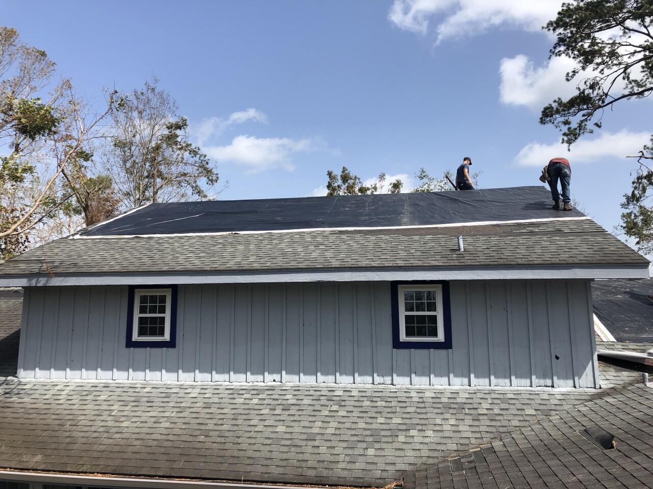 Uber Freight roof tarps