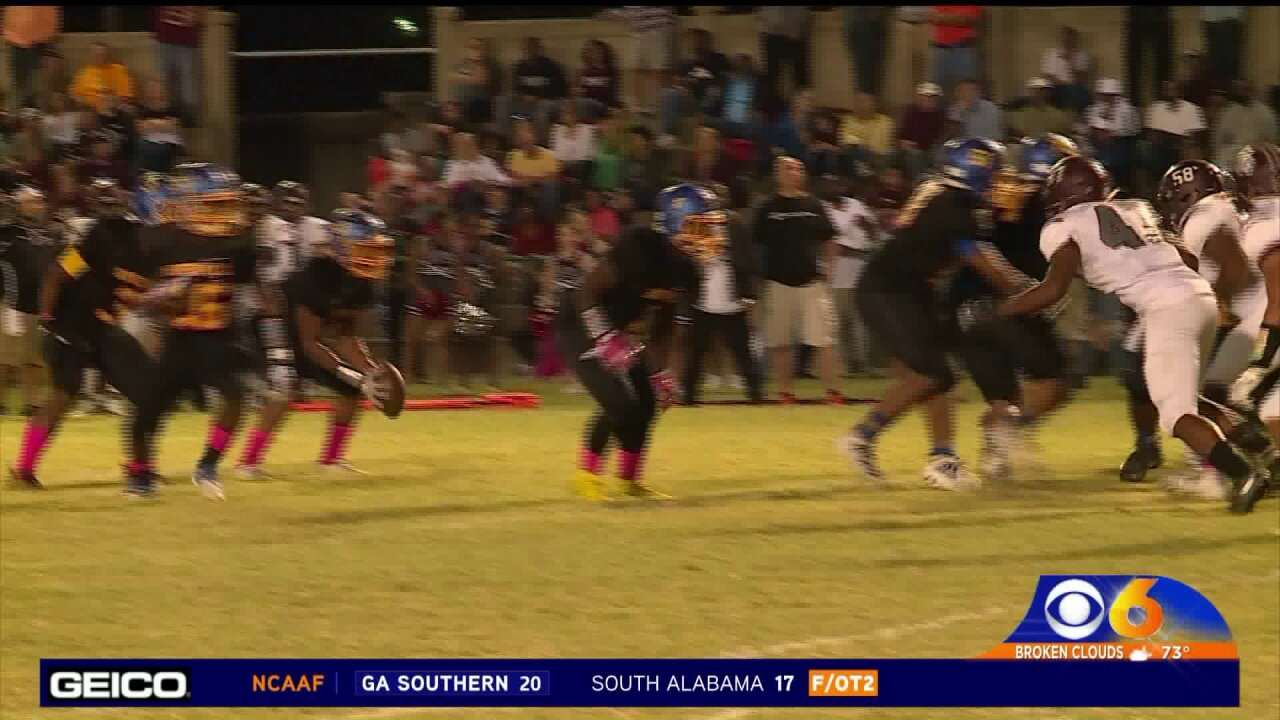 Hopewell remains undefeated with a 44-7 win over ThomasDale