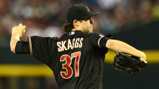 Former Arizona Diamondbacks pitcher Tyler Skaggs has died at 27