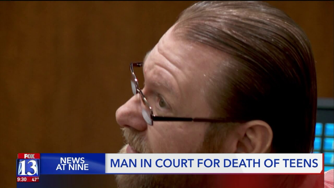 Former girlfriend of accused killer testifies about the night two Juab County teensdied