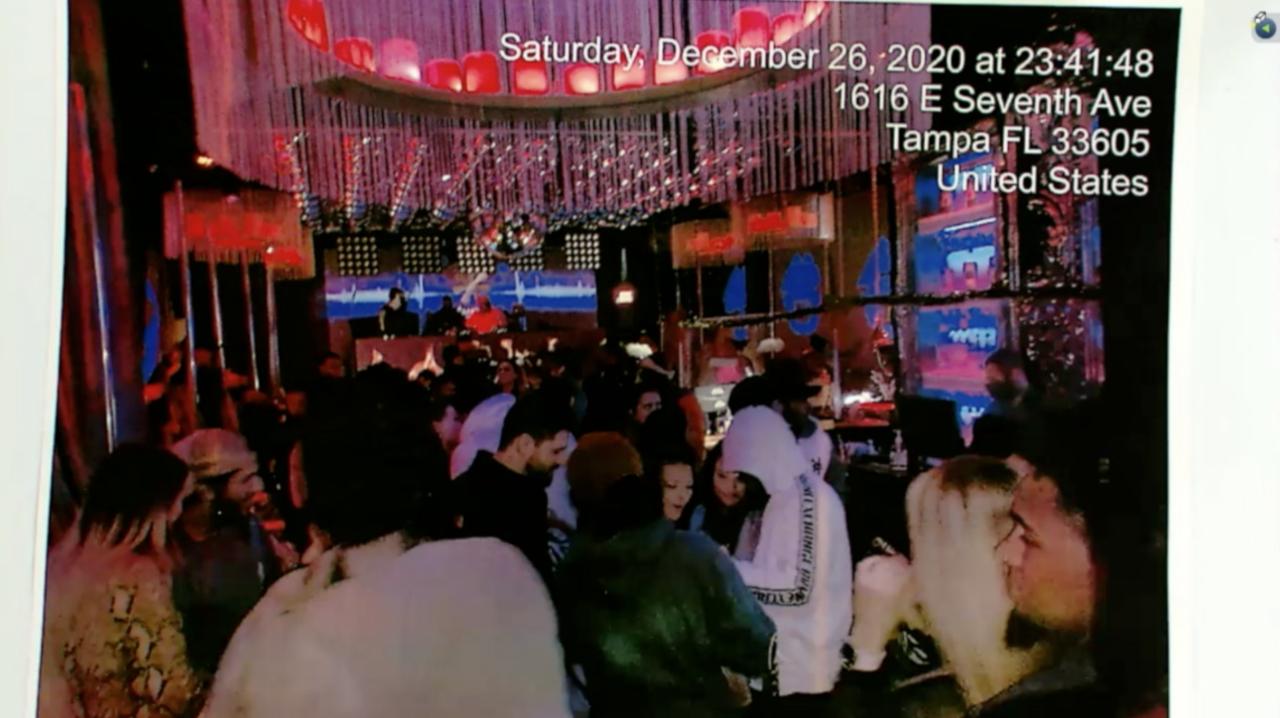Crowds at Tangra Nightclub on December 26th