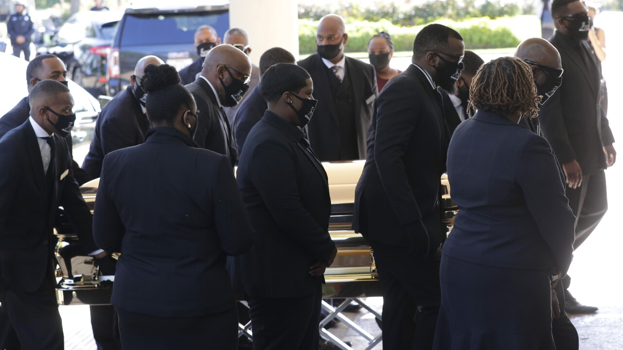 Houston church to hold 6-hour public viewing of George Floyd's casket