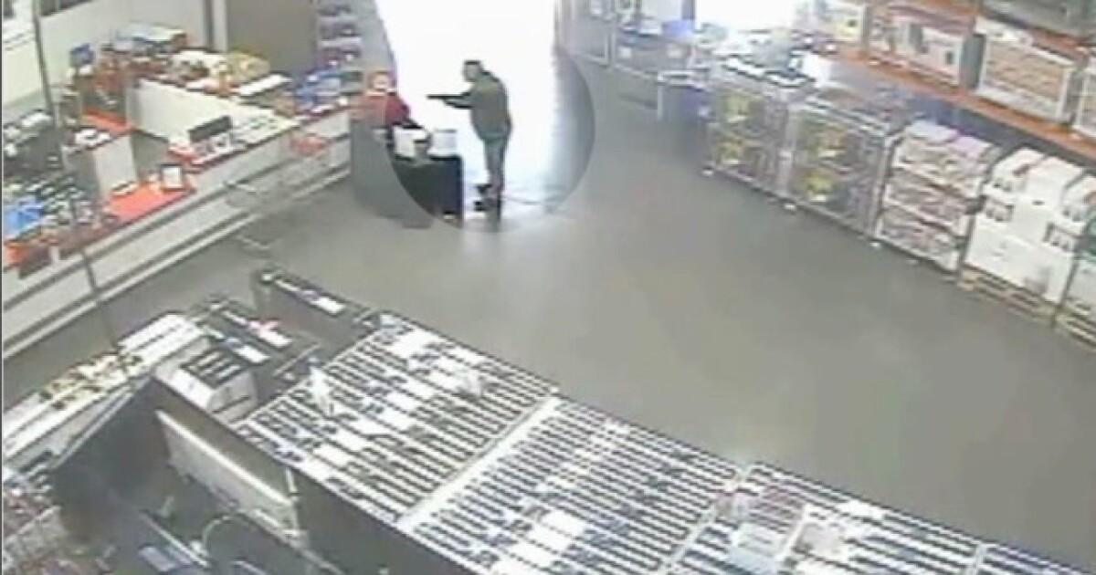 Lenexa Costco shooting: Surveillance video shows man entering with