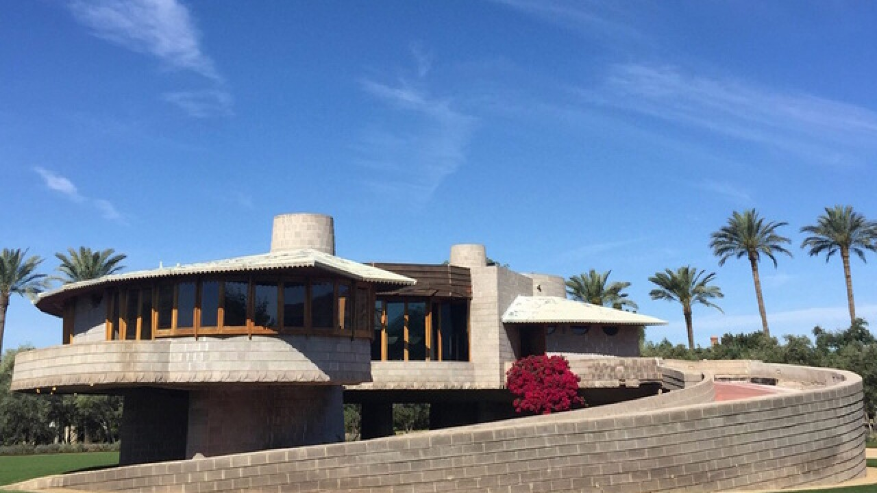 Frank Lloyd Wright-designed Phoenix home for sale for $12.9M