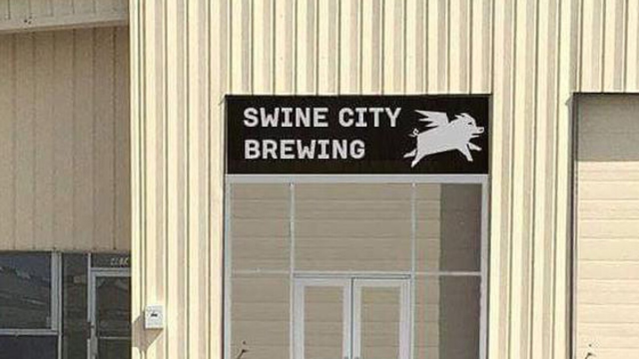 Swine City Brewing is almost ready to open, giving Fairfield its first brewery