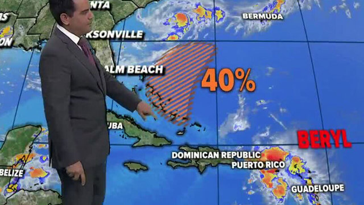 Puerto Rico, US Virgin Islands expect heavy rain from Beryl remnants