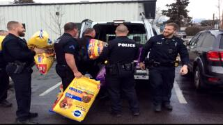 Missoula Police holiday donation collections is a year-long process