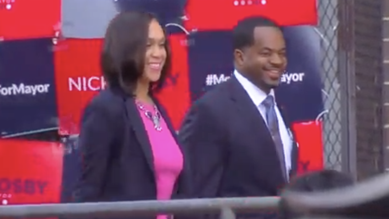Marilyn and Nick Mosby