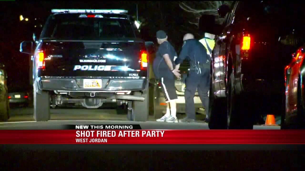 Party ends in alleged kidnapping in WestJordan