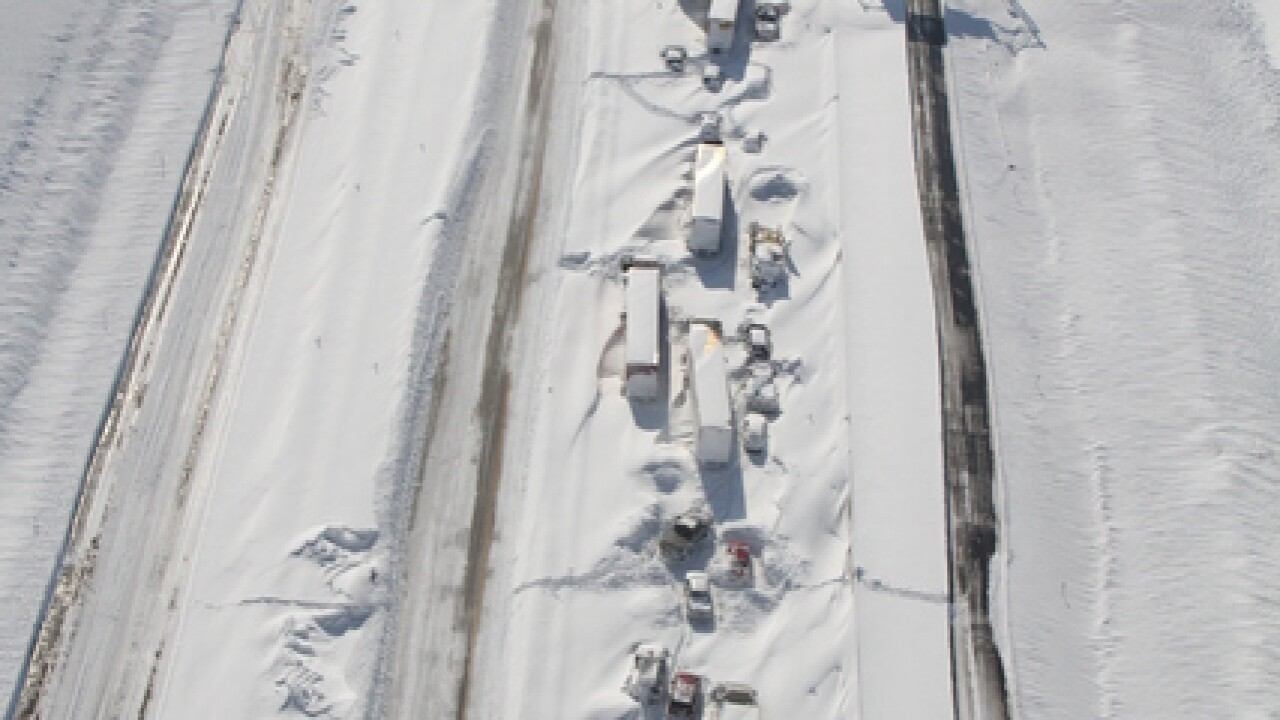 PHOTOS: Incredible aerial shots of area roadways